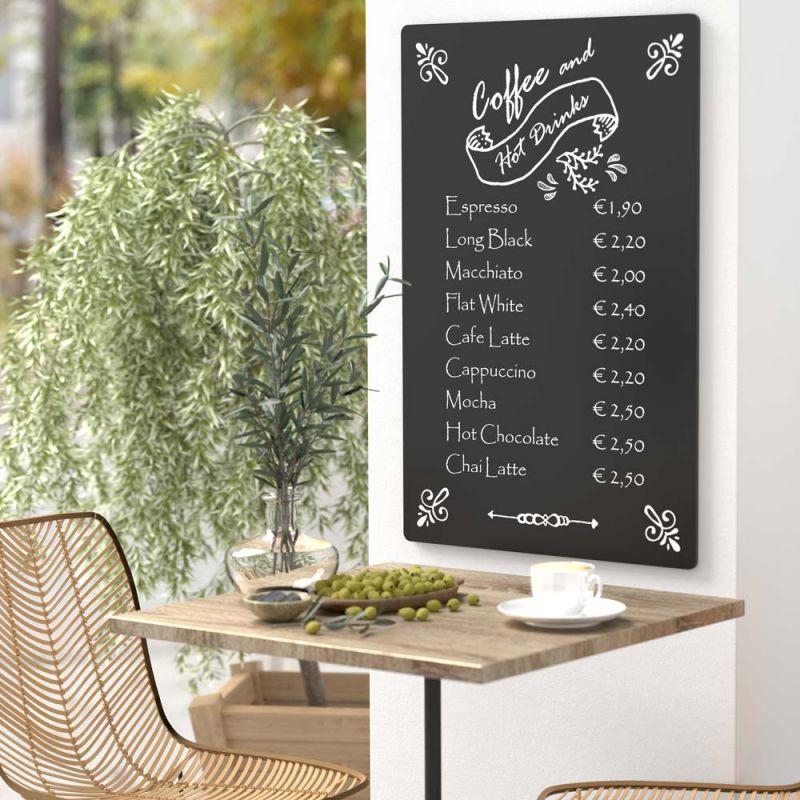 wetterfeste kreidetafel in schwarz g nstig kaufen. Black Bedroom Furniture Sets. Home Design Ideas